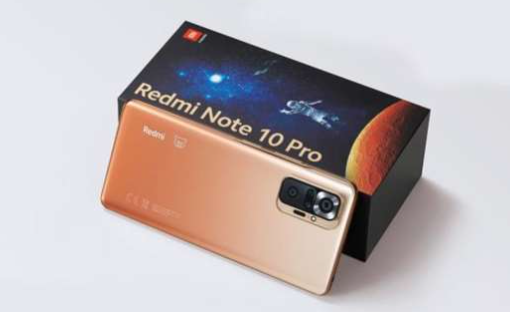 Open the price of Redmi Note 10 Pro in Thailand